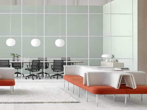 Office featuring Herman Miller products