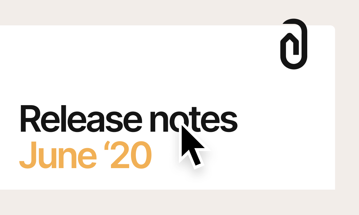 Here's what's new on Clippings: our June release notes