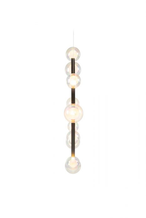 Hubble Bubble pendant by Moooi with illuminated glass bulbs