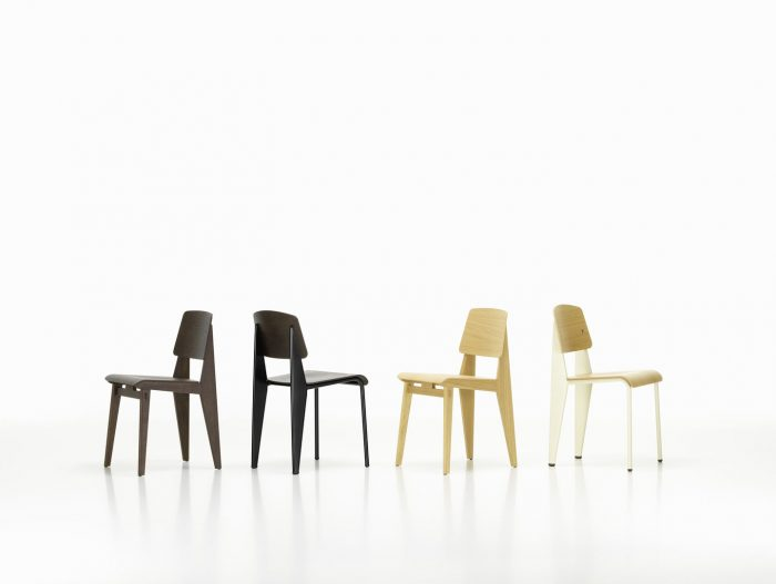 Chaise Tout Bois wooden chair by Vitra